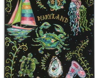 Maryland print