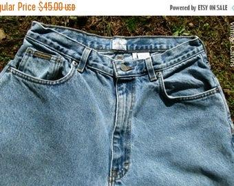 VINTAGE CALVINS, faded JEANS, high waisted jeans, Calvin Klein, 90s Mom jeans, stonewashed denim, hipster grunge retro, waist 31 inseam 29.5