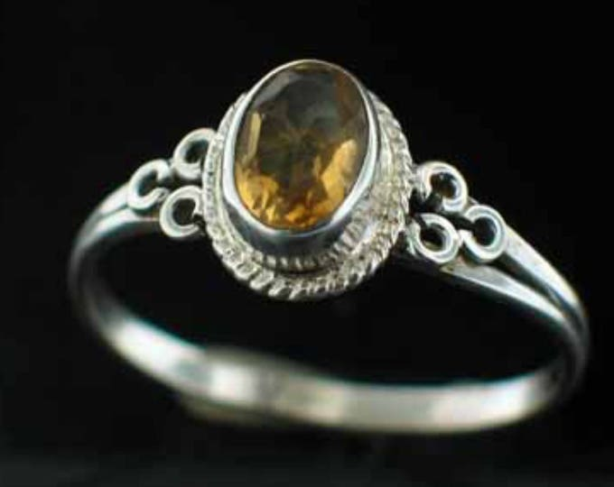 Renaissance Ring, Citrine, Yellow Topaz, Sterling Silver, Sweden,  Royal, Jewellry, Connemara, Wild Atlantic Way, Swedish Jewellry, Eire
