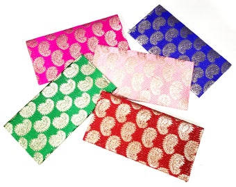 Brocade envelope/purse