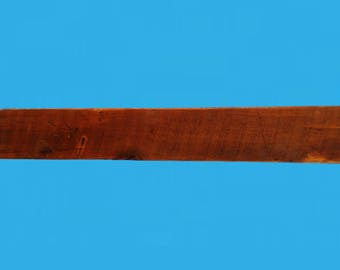 "barn beam shelf with 3 rod hidden steel bracket. -48"" x 5-7/8"" x 2""-690"