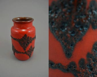 Vintage vase / Scheurich / 231 15 / Fat Lava | West Germany | WGP | 60s