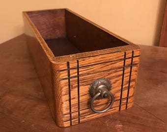 Antique Sewing Drawer/Wood Sewing Drawer/Antique Wood Drawer/Antique  Storage Box
