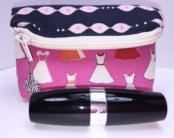 Party Girl Coin Pouch, Change Purse, Small Zipper Pouch, Womans Small Wallet, Credit Card Case