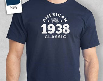 80th Birthday, 80th Birthday Gift, 80th Birthday Present. 80th Birthday Idea for 1938 Birthday, 80th, Birthday Shirt, 80 Birthday!
