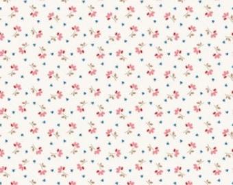 SALE!! 1 Yard Arbor Blossoms by Ellis and Higgs Nadra Ridgeway for Riley Blake Designs -6253 Pink