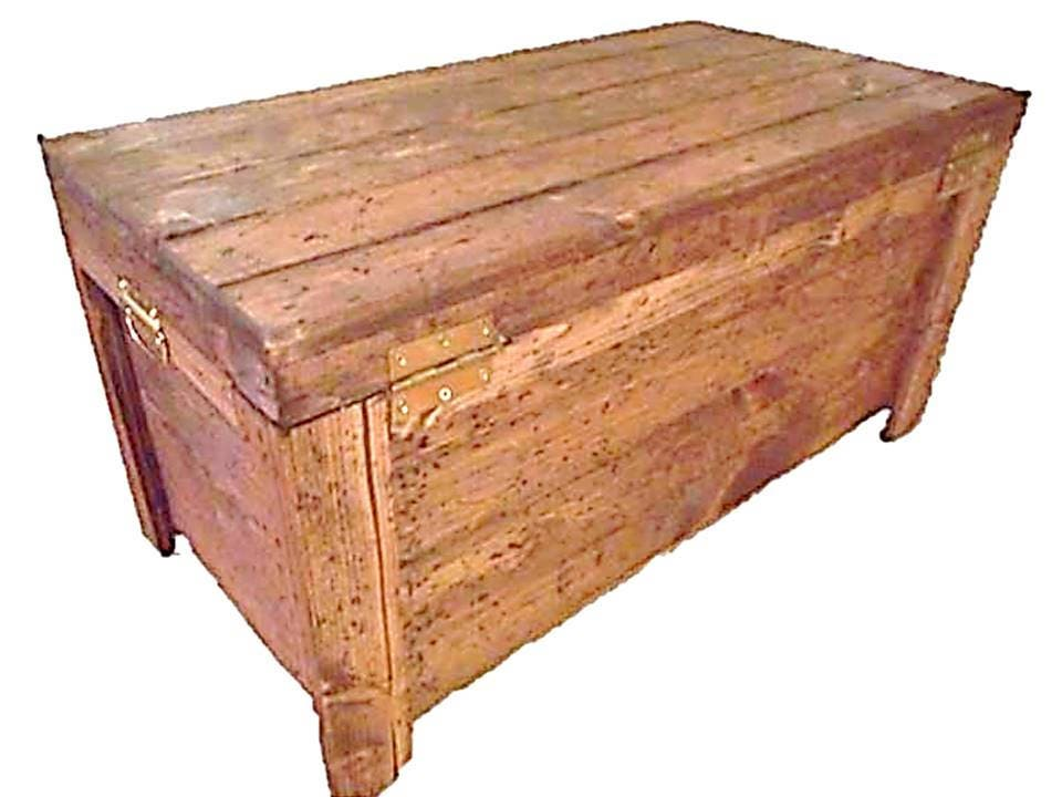 Wood Hope Chest. 1