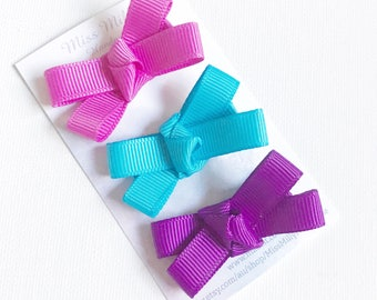 Bow Clips, girls hair clips, toddler hair clip, girls hair clips, hair clips