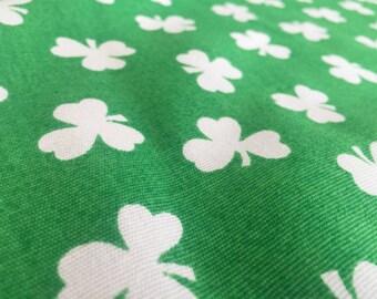 Vintage 70s fabric 50cmx120 cm: clover