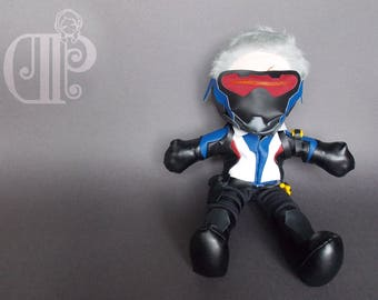 Soldier: 76 Overwatch Plush Doll Plushie Toy