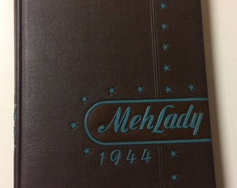 1944 Mississippi State College for Women Yearbook Mey Lady