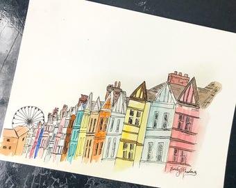 Brighton Watercolor