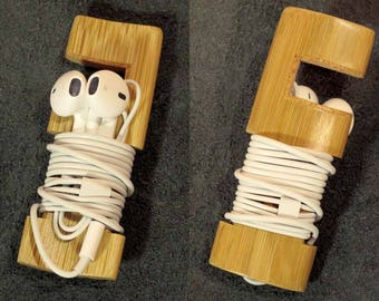 Support universal SmartPhone, Pocket bamboo dock, cell - customizable
