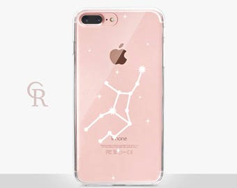Zodiac Phone Case Clear Case - Clear Case - For iPhone 8 - iPhone X - iPhone 7 Plus - iPhone 6S - iPhone SE Astrology Astrological Signs