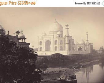 20% Off Sale - Poster, Many Sizes Available; Taj Mahal, Agra, India 1870