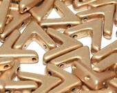 Ava Bead 10x4mm, 01710 Aztec Gold 10/20/30Pcs