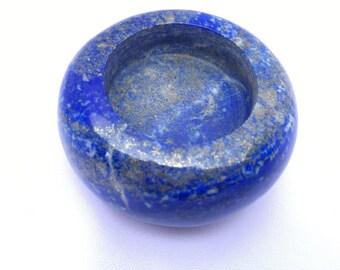 Lapis lazuli tealight candle holder 40mm (tealight holder)