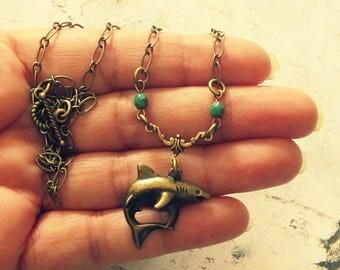 Shark Necklace, Shark Jewelry, Shark Gifts, Shark Accessories, Surfer Necklace, Surfer Jewelry, Surfer Gifts, Surfer Accessories