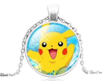 Collier Pokemon Pikachu