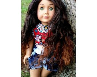 Ooak Custom American Girl Doll Taralyn