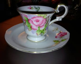 Ucagco Tea Cup and Saucer