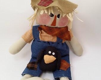 Primitive scarecrow doll, fall scarecrows, scarecrow decoration, scarecrow decor, fall decor, fall decoration, scarecrow doll,
