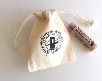 Lip balm favors, brooklyn favors, wedding lip balm, shower favors, made in brooklyn, custom lip balm, party favors