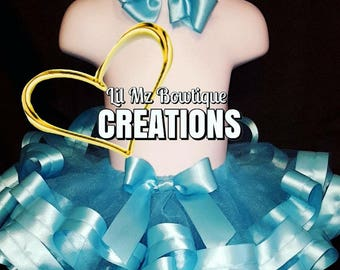ON SALE Ribbon trim tutu, dance tutu, tutu skirt, birthday tutu skirt, tutu for weddings, tutu's, birthday tutu, girls tutu