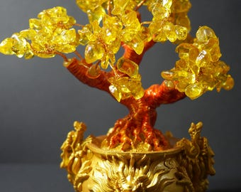Money Tree | Feng Shui Tree | Lucky Tree | Fortune Tree | Crystal Tree