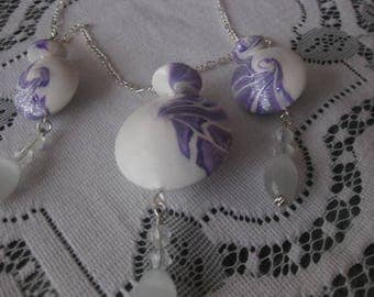 Lentil Bead Necklace