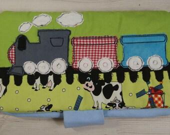 Diaper bag/diaper bag with embroidery/handmade