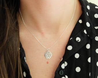 Arabesque necklace in 925 Silver necklace