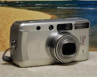 Vintage CANON SURE SHOT Z180u, Autoboy 180, Prima Super 180, Compact 35mm Point & Shoot Film Camera, Canon 38 ~ 180mm Zoom Lens, Super!