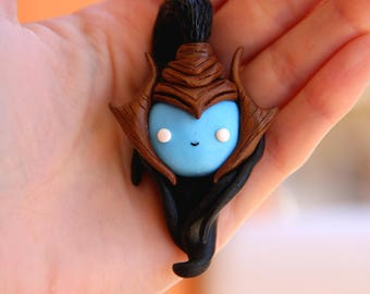 Kalista Necklace or Keychain League of Legends  Gamer Kawaii Geek videogames