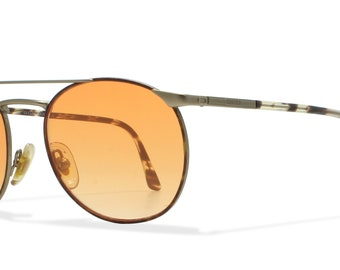 Gucci 1345 QW4 Multicoloured Vintage Sunglasses Round For Men and Women