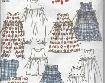 New Look 6493 Dress, Romper, and Top pattern OOP