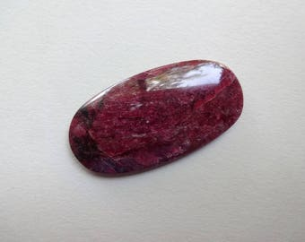 Eudialyte Eudialite oval cabochon 45x23 mm