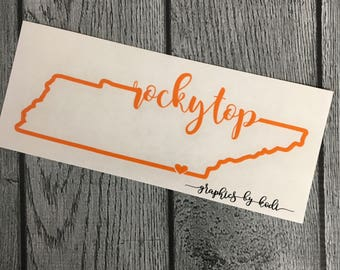 Rocky Top State Online - Tennessee - Rocky Top Sticker - TN - Tennessee Decal