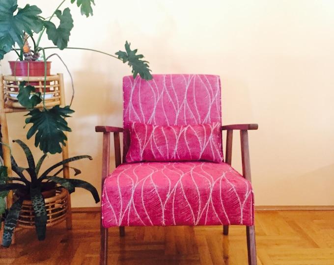 Talia Midcentury Upcycled Armchair