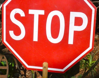 Stop Sign, Traffic Sign, Dude Find, Man Cave Sign, Handheld Sign, Crossing Guard Sign, Car Transportation, Automobile, Garage, Man Chic, Max