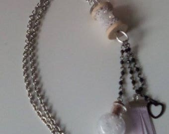 """Snow Queen"" necklace"