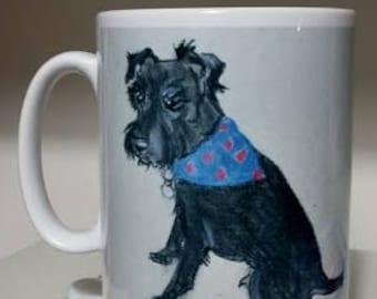 Jalfie the Patterdale Coffee or Tea Mug