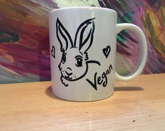 Bunny Style- Vegan Coffee/Tea Cup