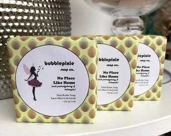 "Partridgeberry Soap, Bakeapple Soap, The Wizard Of Oz Soap, Newfoundland Soap, Handmade Soap, ""No Place Like Home"""