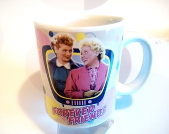 "I Love Lucy ""Friendship Lasts Forever"" 12 oz. Coffee Mug by Vandor"