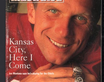 Vintage Magazine - Sports Illustrated : April 26 1993 - Joe Montana
