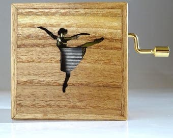 Custom Made Music Box 'Lude'. Type of wood & tune of your own choice