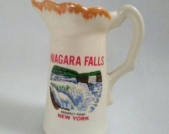 Vintage Niagara Falls Prospect Point New York Pitcher