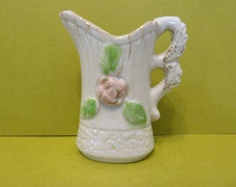 Miniature Pitcher, w / Luster Ware Bottom Front