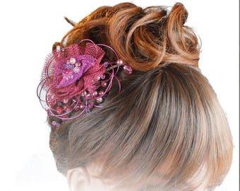 Wedding Headdress, Wedding tiara, Wedding Sideband, Bridesmaid Headdresses, Bridal Headpiece, Wedding Tiaras, Coloured Headdresses